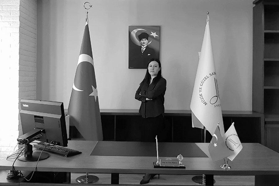 Prof. Dr. Ebru TEMİZ | Müzik Eğitimi Ana Bilim Dalı Başkanı