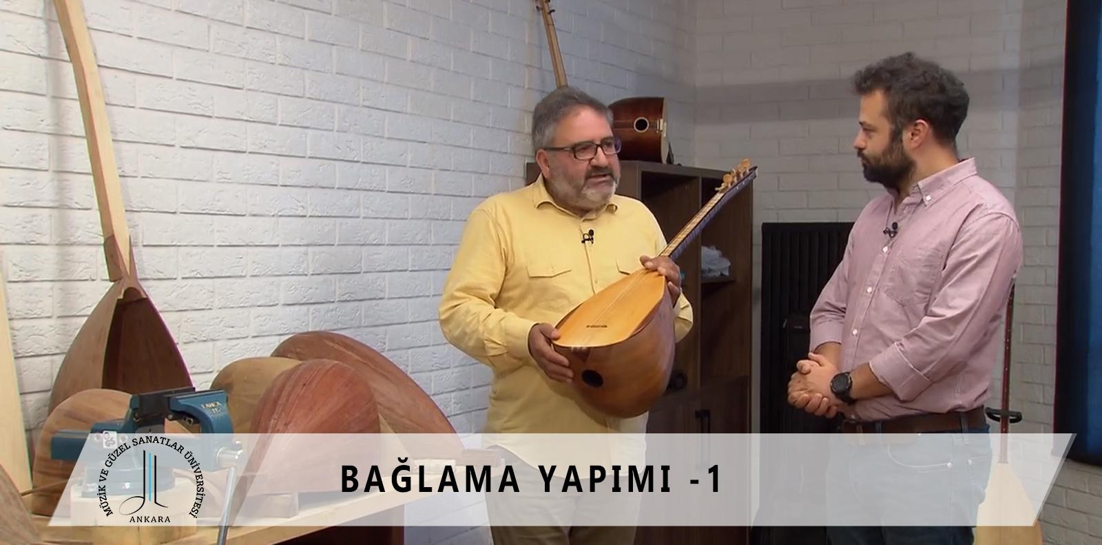 EBA TV BAĞLAMA YAPIMI BÖLÜM -1