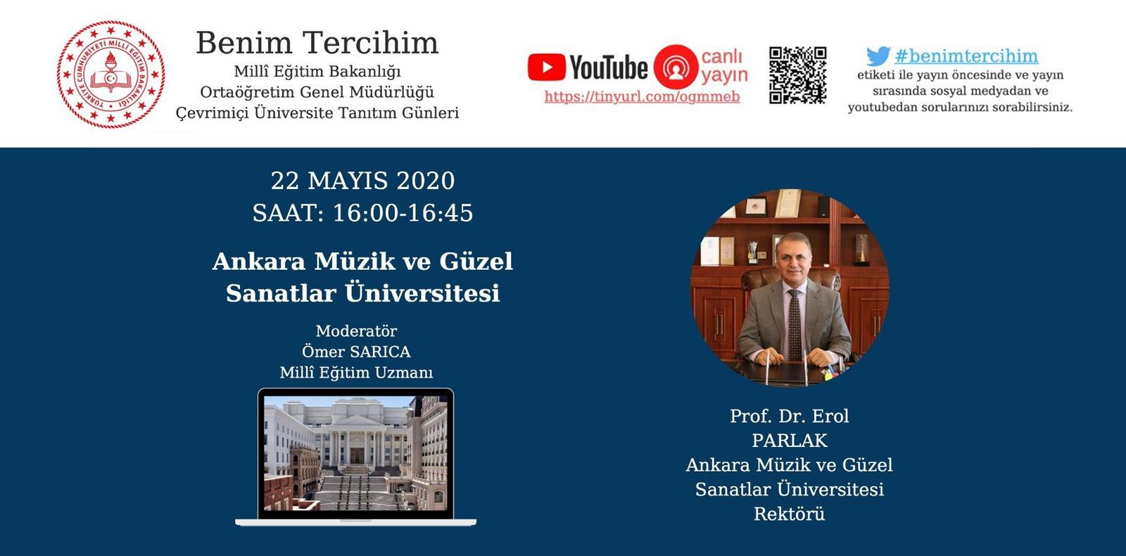 Benim Tercihim Ankara Müzik ve Güzel Sanatlar Üniversitesi