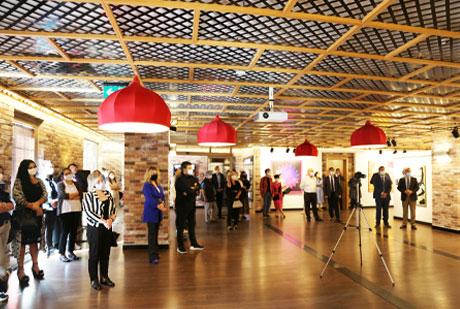 MGÜ Sanat Galerisi Açıldı