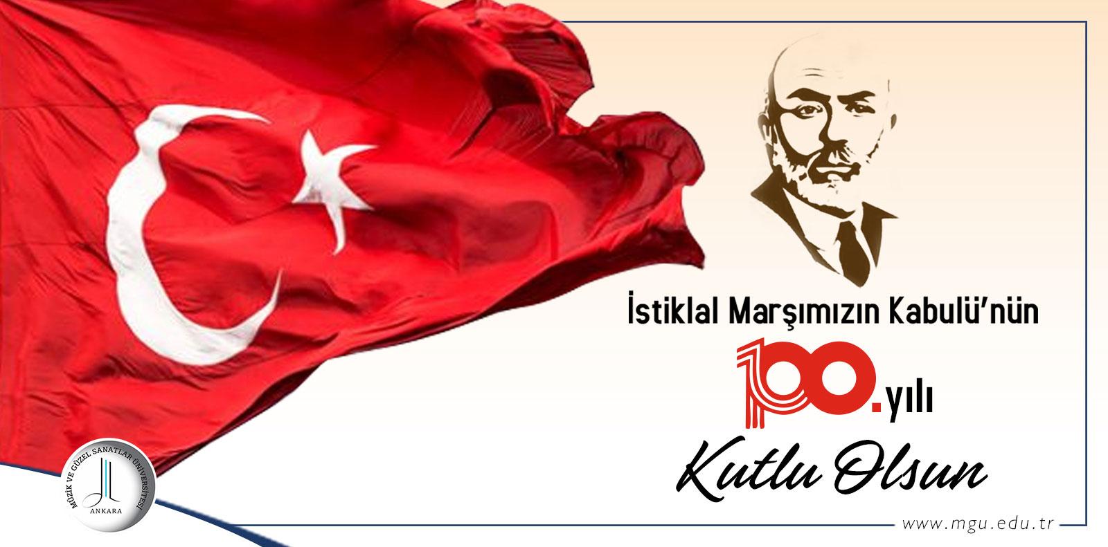 İstiklal Marşı'nın Kabulünün 100. Yılı Slide