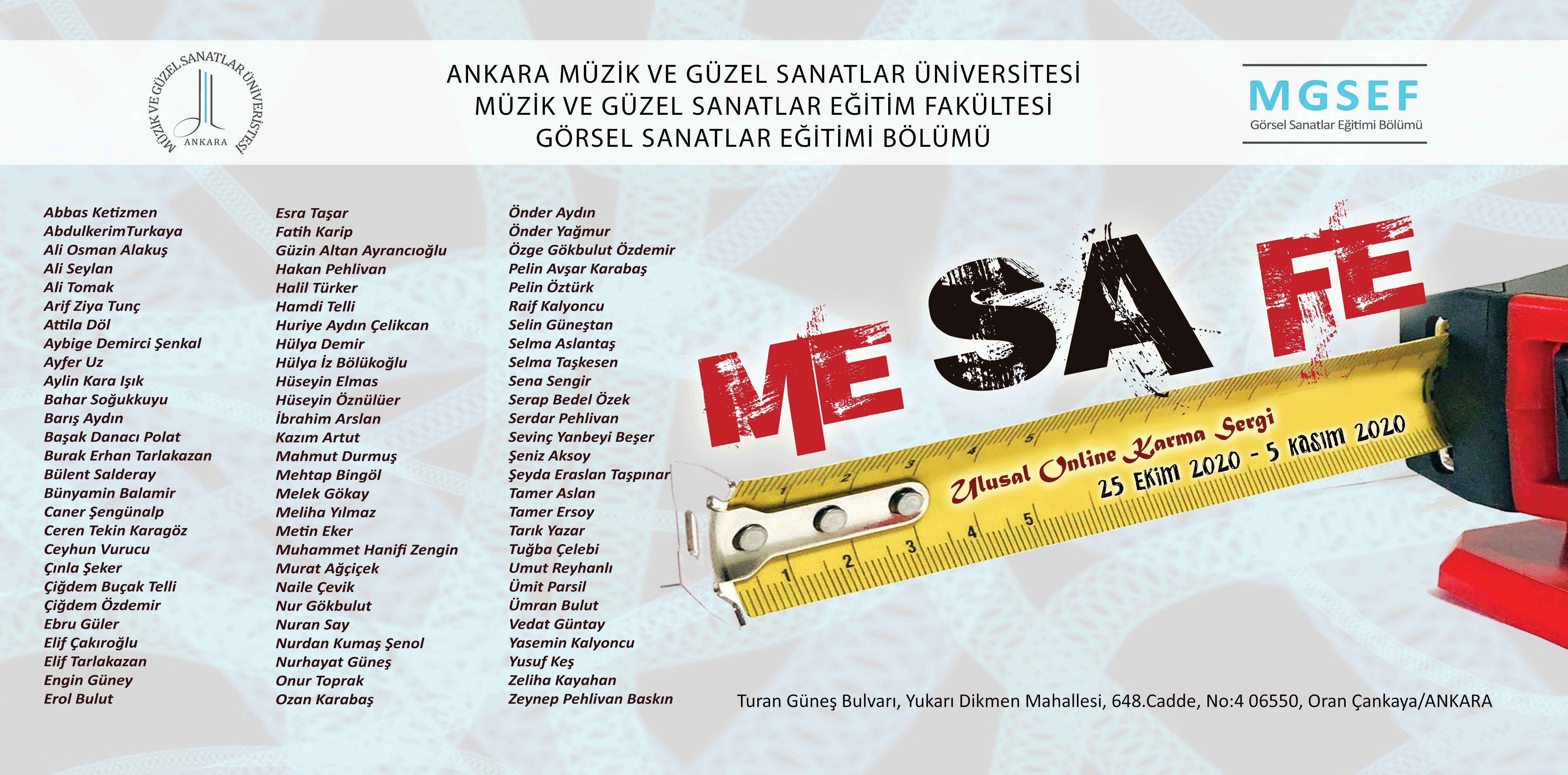 Mesafe Sergi Slayt