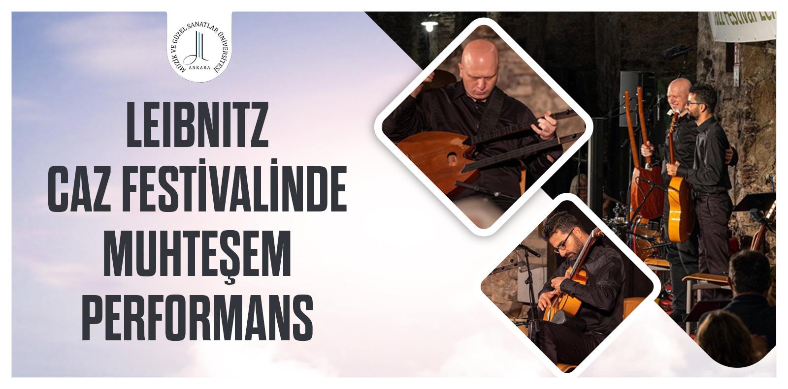 Leibnitz Caz Festivalinde Muhteşem Performans Slid