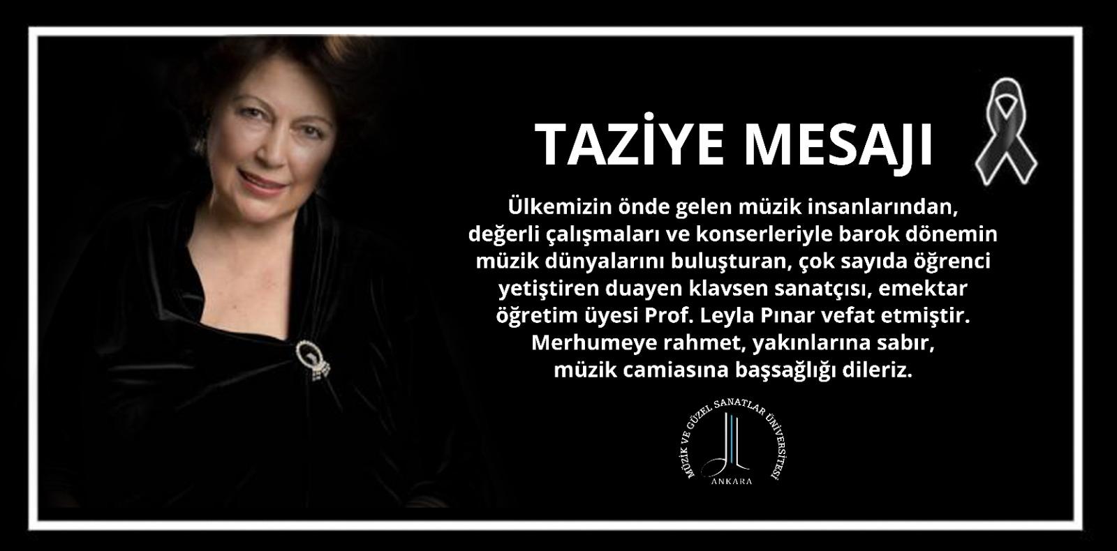 Leyla Pınar Taziye Slayt