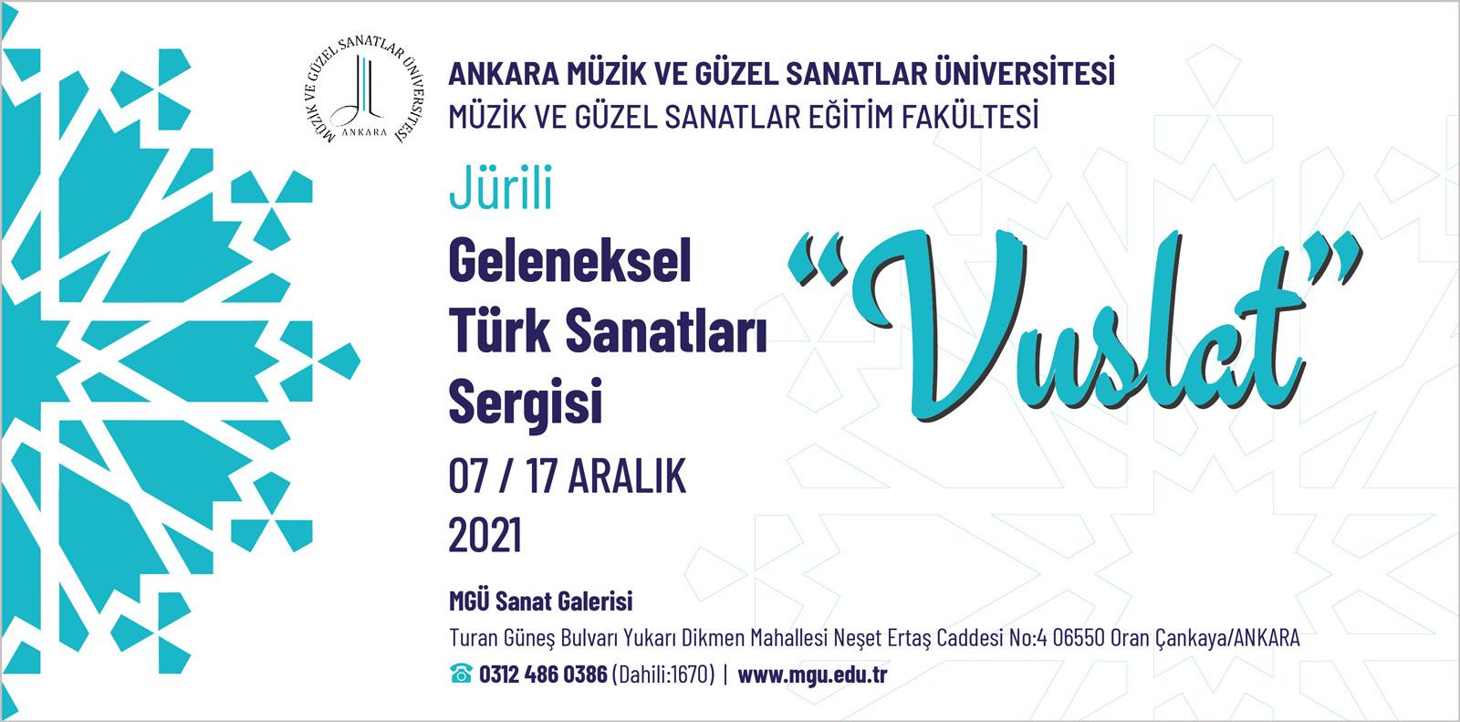 Jürili Geleneksel Türk Sanatları Sergisi Vuslat Sl