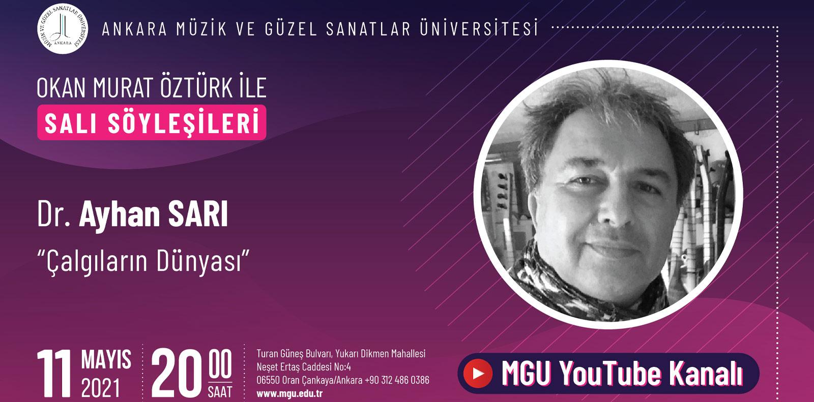 Okan Murat Öztürk ile Salı Söyleşileri Slayt