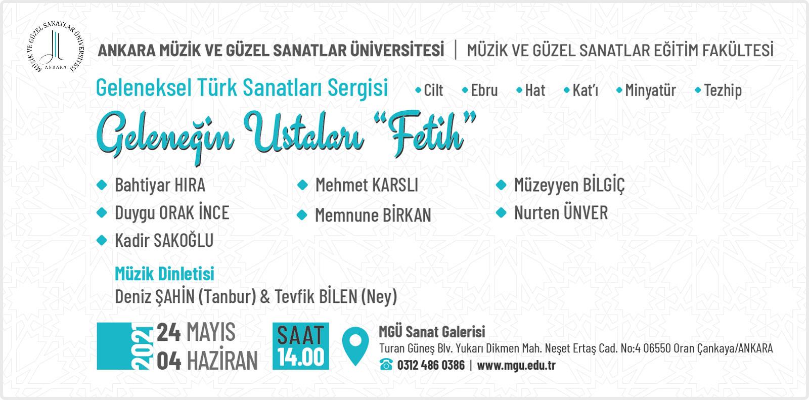 Geleneğin Ustaları 'Fetih' Geleneksel Türk Sanat