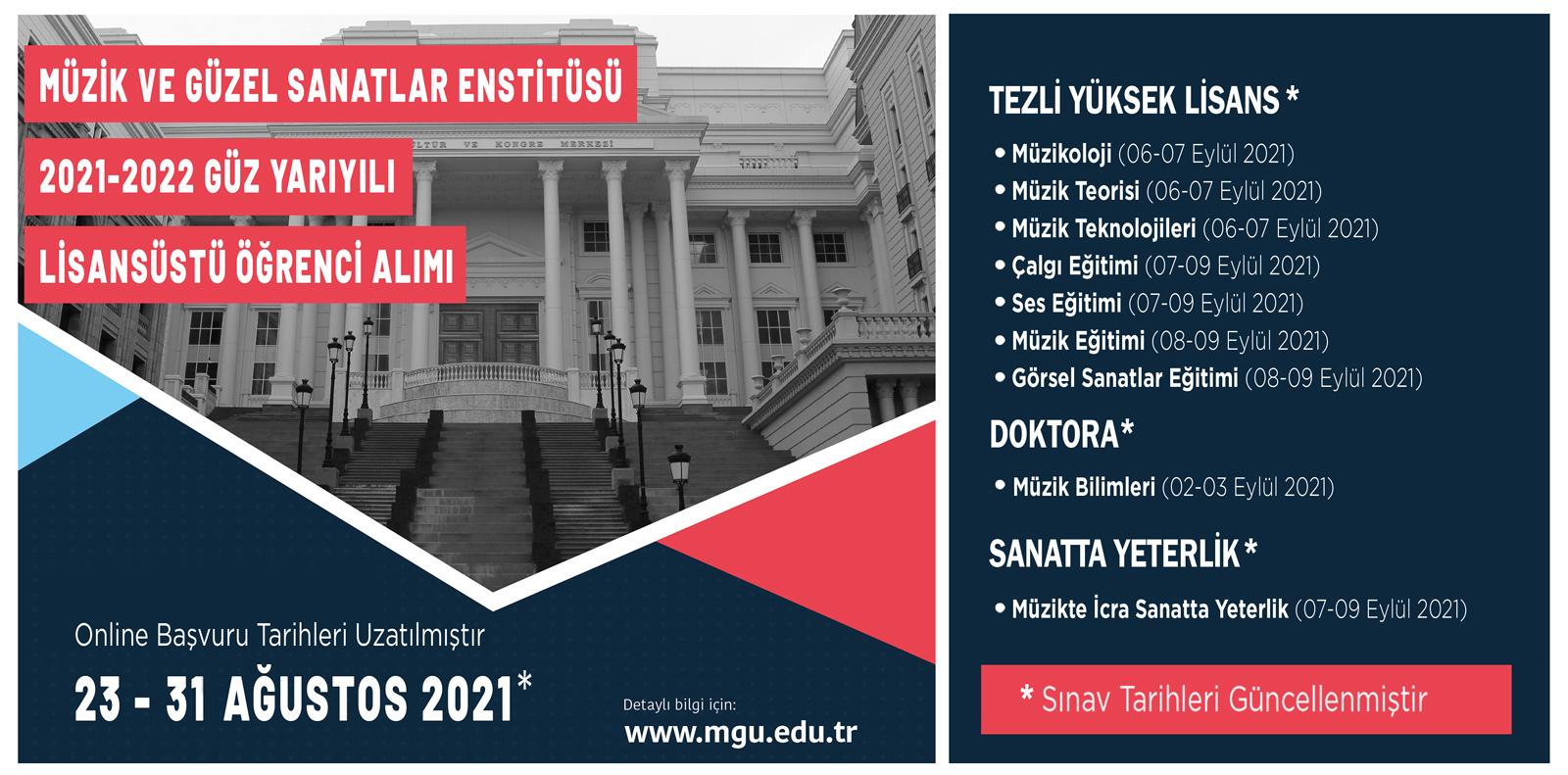 Enstitü Yükseklisans Slide