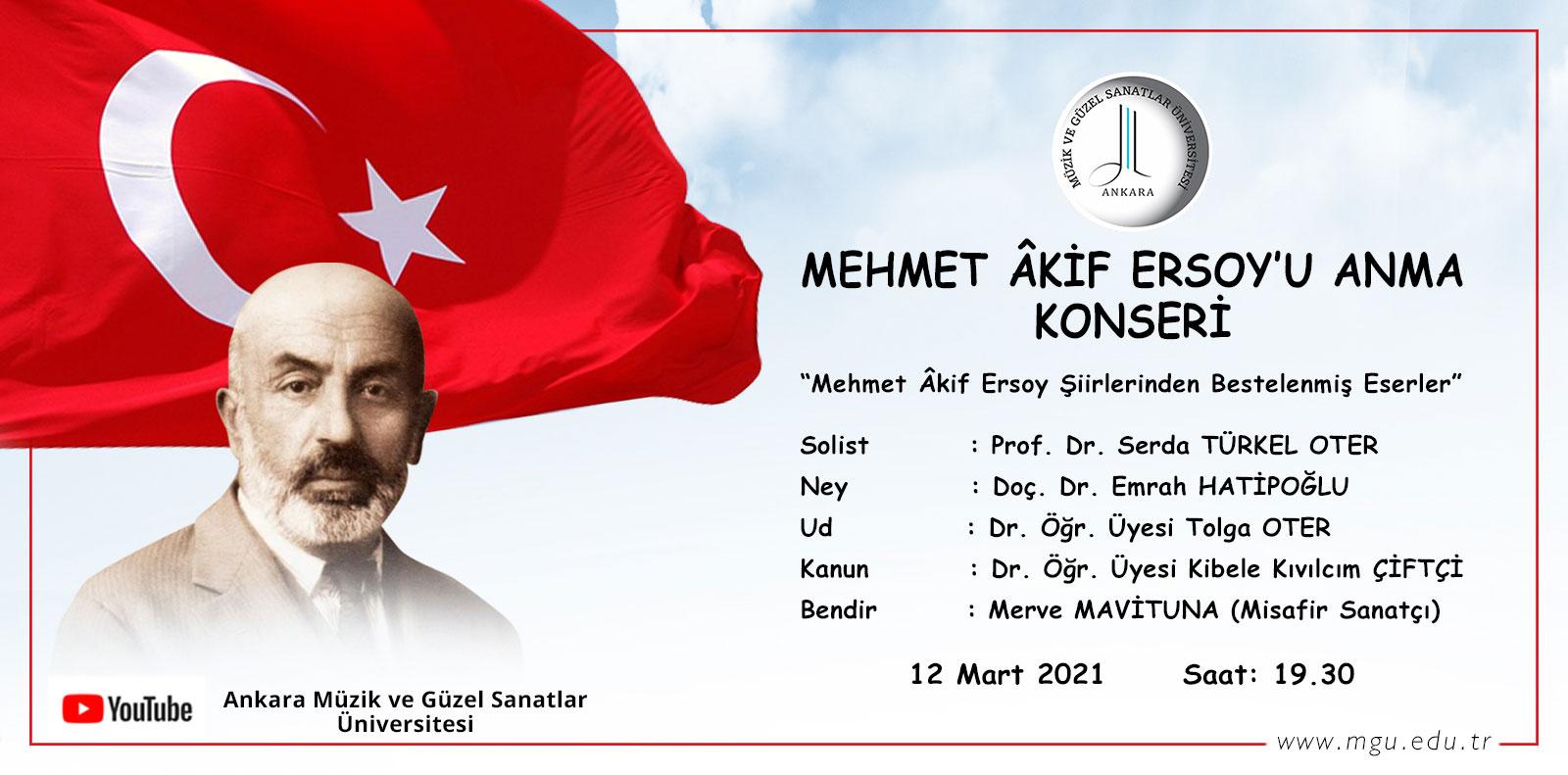 Mehmet Akif Ersoy'u Anma Konseri Slide