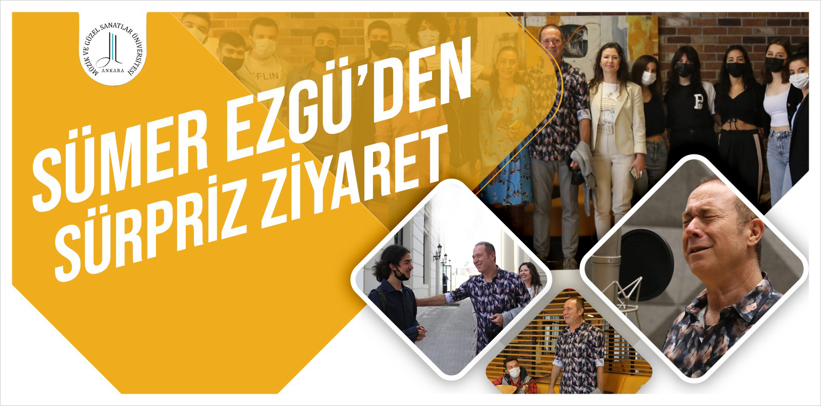 Sümer Ezgü'den Süpriz Ziyaret Slide