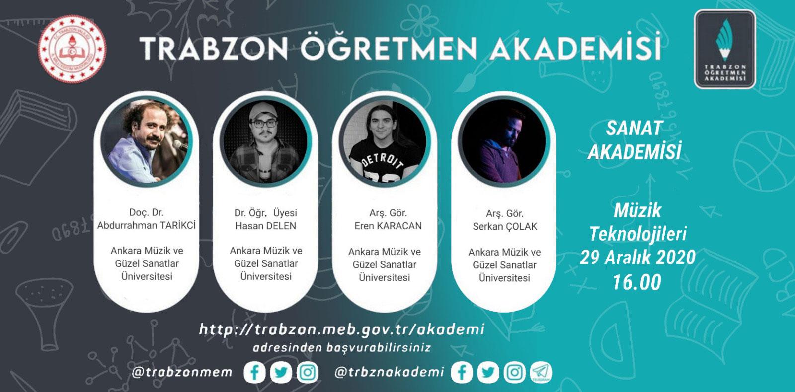 Trabzon Öğretmen Akademisi Slide