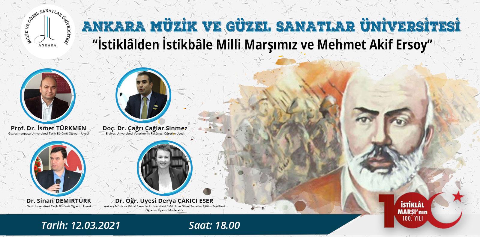 İstiklalden İstikbale Milli Marşımız ve Mehmet Aki