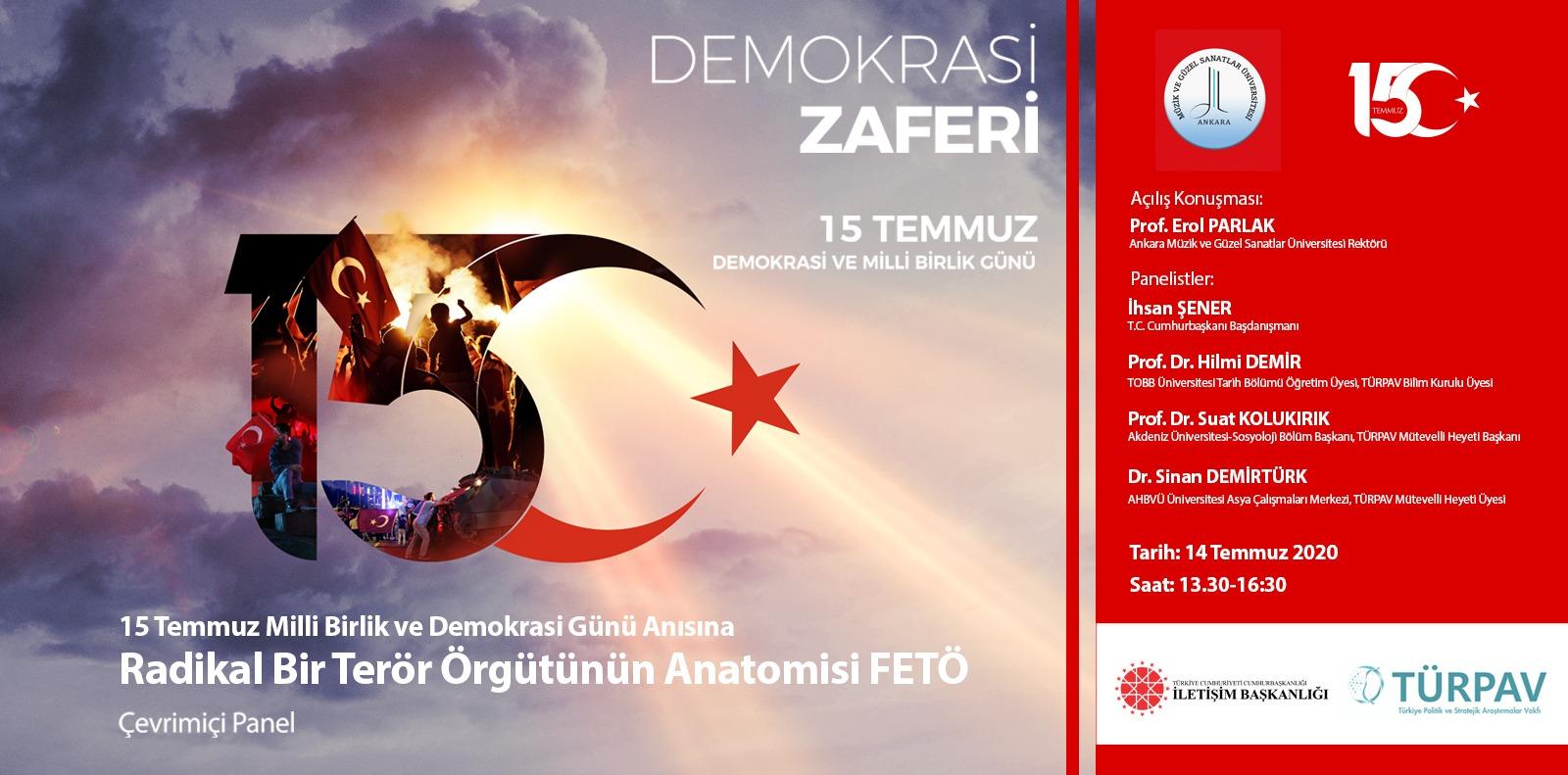 15 Temmuz Demokrasi ve Milli Birlik Günü Slide