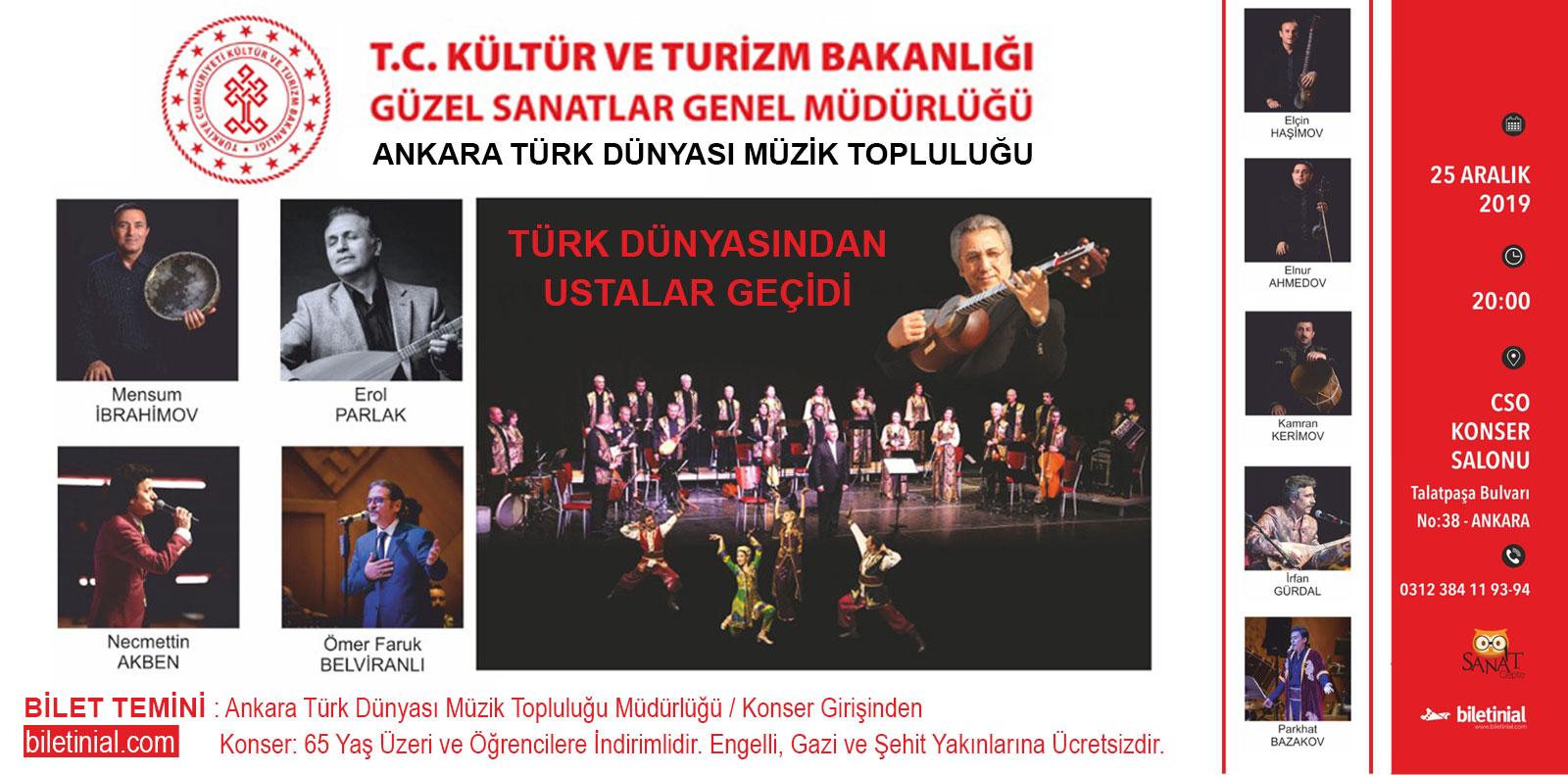 """Türk Dünyasından Ustalar Geçidi"""""""